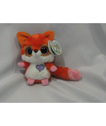 YOO HOO & FRIENDS Plush toy RUBY the RED FOX new w/ sound Aurora - $23.75