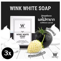 3x WINK WHITE SOAP BEST SKIN LIGHTENING WHITENING FACE BODY SOAP - $12.00