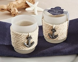 "24 ""Anchors Away"" Rope Tealight Holder - $70.33"