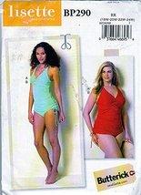 Butterick (Lisette) Sewing Pattern BP290 c2016 Misses' Swimsuit, Size, 18w-24w - $5.39