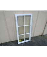 Handcrafted Antique Exterior True Divided Window Type C 48in x 24in Wood - $36.10
