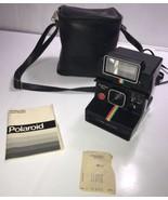 POLAROID Instant Film ONE STEP PLUS Land Camera Q-LIGHT FLASH Rainbow Vi... - $112.19
