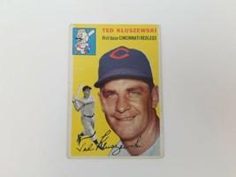1954 Topps Ted Kluszewski #7 Cincinnati Redlegs Baseball Card Vg-Ex No C... - $15.47