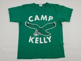 NFL Vintage Philadelphia Eagles Youth T-Shirt sz Medium Kelly Green Tee ... - $14.21