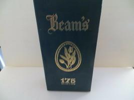 Jim Beam Blue Velvet Lined Decanter Case 175 Months  - $10.00