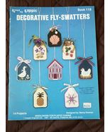 1 Vintage 1987 Kappie Decorative Fly Swatters Book #118 Booklet Needlework - $7.49