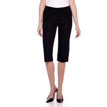 Worthington Sateen Cropped Pants Size 6P, 16P New Msrp $44.00 Black - $14.99