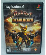 RATCHET DEADLOCKED Sony PlayStation 2 PS2 VIDEO GAME COMPLETE RARE - $49.50