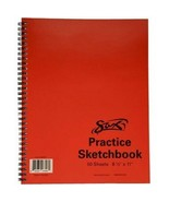 Sketch Book 8.5 x 11 Drawing Paper Pad Notebook 100 Sheets School Art Su... - $10.39