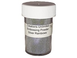 Creations Unlimited-Various Colors of Sparkling Embossing Powder.