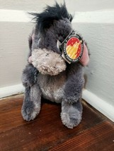 "Disney Parks Winnie the Pooh 8"" Eeyore Plush with the Tag - $16.44"