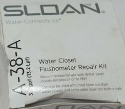 Sloan A38A Water Closet Flushometer Repair Kit Traditional Segment Diaphragm image 2