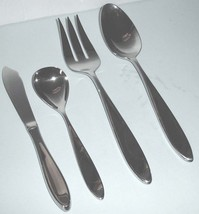 Wedgwood New Oberon 4 Piece Hostess Set 18/10 Stainless Flatware New In Box - $36.90
