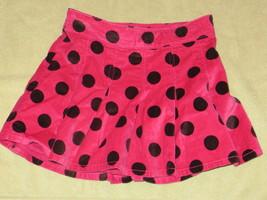 NWT Gap Kids Pink Black Polka Dot Skirt Size 12R 12 Regular - $2.99