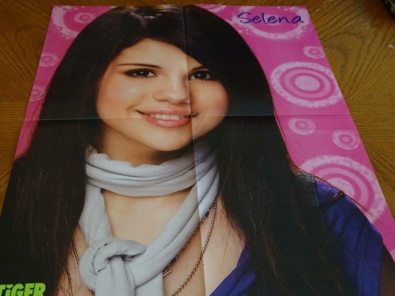 Primary image for Selena Gomez Jonas Brothers teen magazine poster clipping Nick Jonas Tiger Beat