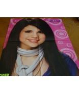 Selena Gomez Jonas Brothers teen magazine poster clipping Nick Jonas Tig... - $5.00