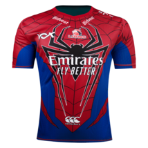 Canterbury Lions Marvel Collection Spiderman Rugby Jersey image 1