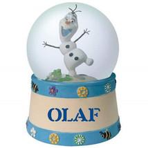 Walt Disney's Frozen Olaf Smiling Figure 65mm Water Globe, NEW BOXED - $26.85