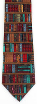 Pastor's Library Men's Necktie Minister Priest Books Religious Silk Neck... - $19.75