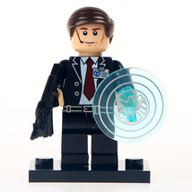 Custom Agent Phil Coulson Minifigure Marvel Comics fits with Lego UK Seller - $3.49