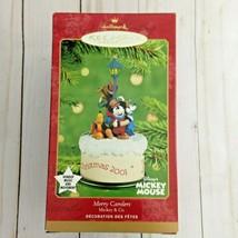 Merry Carolers Mickey & Co. QXD7585 Disney 2001 Hallmark Keepsake Ornament - $29.69