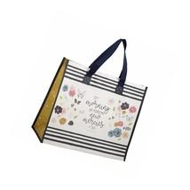 Prayerful Wings Reusable Gift/Tote Bag, Large, White - $21.99