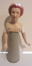 Vintage Yield house Abigail Adams porcelain  doll head - cone doll - $57.00