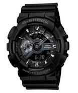 Casio Men's G-Shock GA110-1B Black Resin Quartz Fashion Watch - $121.51