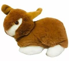 "MTY International Brown Easter Bunny Plush 14"" Stuffed Animal - $17.03"