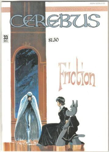Cerebus the Aardvark Comic Book #33 AV 1981 FINE