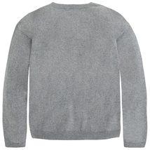 Mayoral Tween Girls Angora Blend Crown Bull Dog Intarsia Knit Sweater image 2