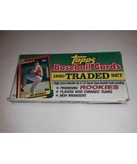 1990 Topps Baseball Traded Set - 132 Cards - $19.95
