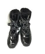 Sorel Whitney Short Lace Black Winter Boot Waterproof Womens Size 10 LL3433 010 - $120.00