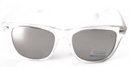 Sunscape Flash Dazed N Confused Clear Silver Mirror Adventurer Sunglasses image 2