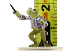 Hagen Renaker Miniature Frog Toadally Brass Band Conductor Ceramic Figurine image 7