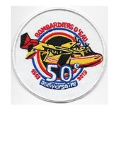 France Securite Civile Bombardier d'Eau 50 years Ministere lnterieure md... - $9.99