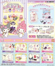 Re-ment My melody Kuromi Little Style Shop Miniature Figure Complete Box... - $48.41