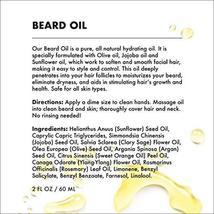 Provence Beauty Beard Oil - All Natural Fragrance Free Olive, Sunflower & Jojoba image 7