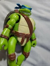 VTG Teenage Mutant Ninja Turtles Transforming LEONARDO Action Figure 199... - $11.88