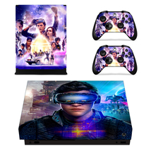 Xbox one X Console Vinyl Skin Ready Player One Skin Cover Decal Sticker ... - $14.00