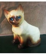 VINTAGE SIAMESE CAT PLANTER - $26.55