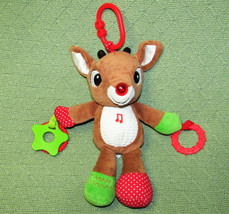 KIDS PREFERRED RUDOLPH RED NOSED REINDEER BABY ACTIVITY TOY MUSICAL LIGH... - $11.98