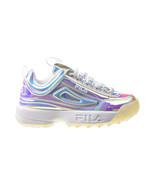 Fila Disruptor II Women's Shoes Iridescent-White 5XM01132-775 - $80.00
