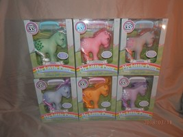 My Little Pony 35th Anniversary Set of 6 Complete New In Box - $163.34