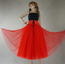Gray Vintage Inspired Wide High Waist Tulle Skirt Halloween Holiday Tulle Outfit image 8