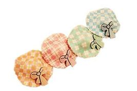 Set of 6 Korean Style Kids Sun Hat Hair Clips (Random Color)