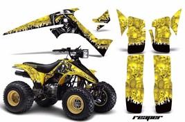 ATV Graphics Kit Decal Sticker Wrap For Suzuki Quadrunner LTR230 85-93 REAPER Y - $168.25