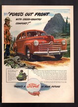 """1946 Ford 100 HP V-8 """" Ford's Out Front """"  Rest-Ride Springs Vintage Pri... - $9.49"""