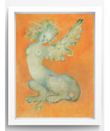 """Abstract Art Oil Painting Print on Canvas""""Sphinx""""Home Decor No Frame - $29.99"""