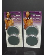 2 Packs Conair The Hair Removal System Replacement Pads HBRPO8 New 4 Pad... - $59.39